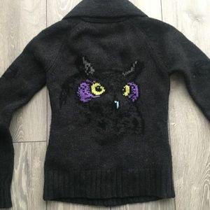 TNA Lambswool Owl Sweater